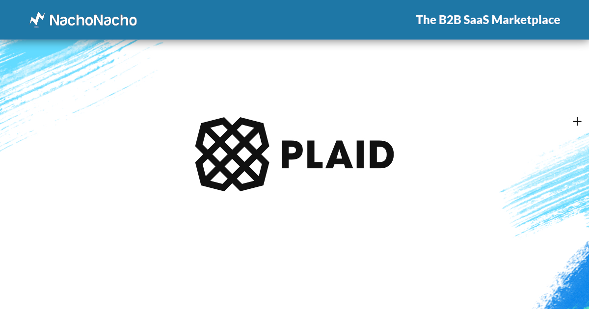 The Plaid company logo within a NachoNacho frame