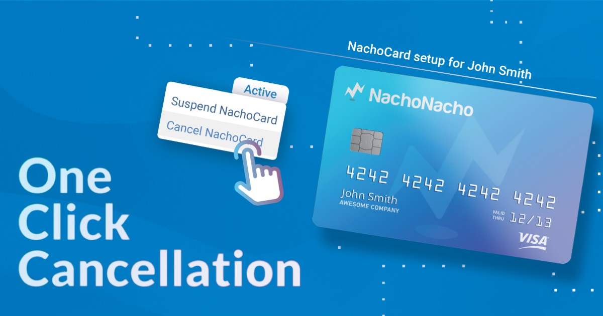NachoNacho - Cancel subscriptions with one click
