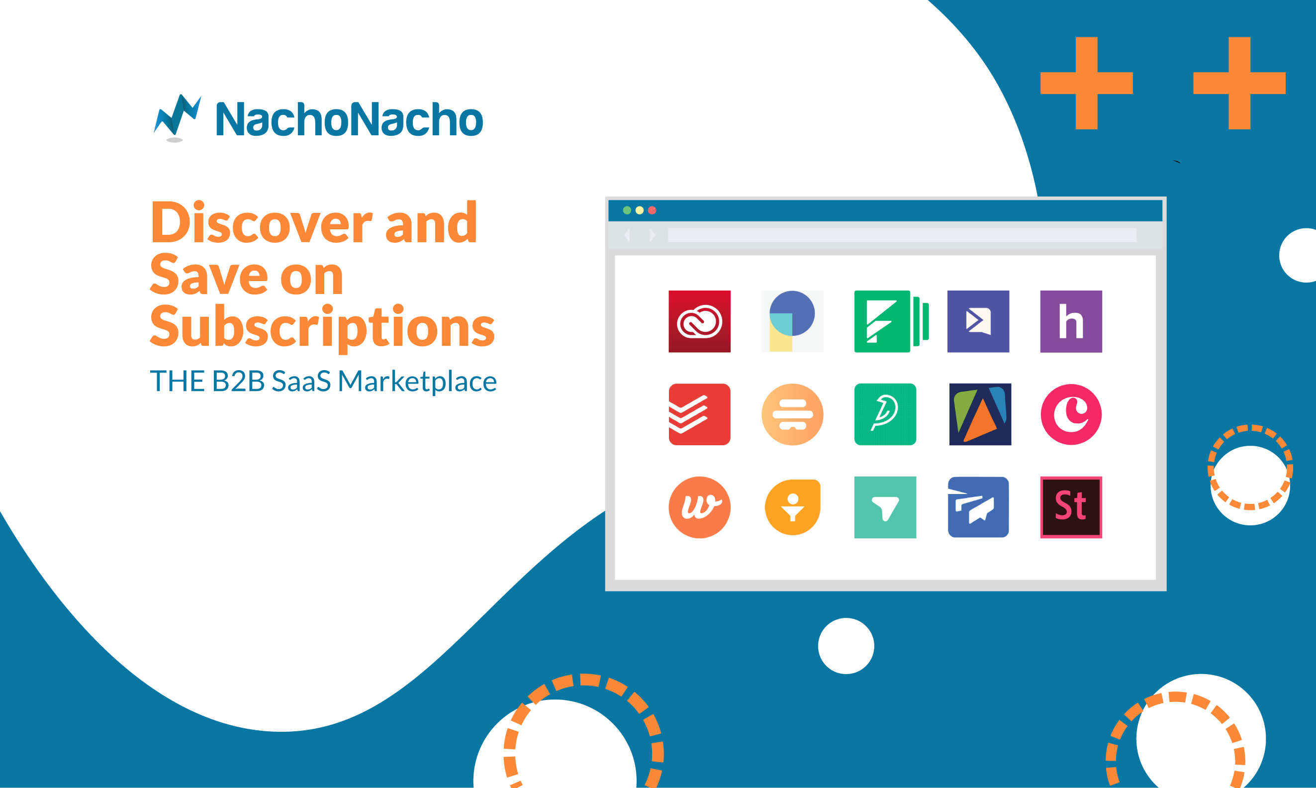 NachoNacho - Discover and save on subscriptions: the B2B SaaS Marketplace
